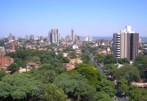 パラグアイの首都 アスンシオン