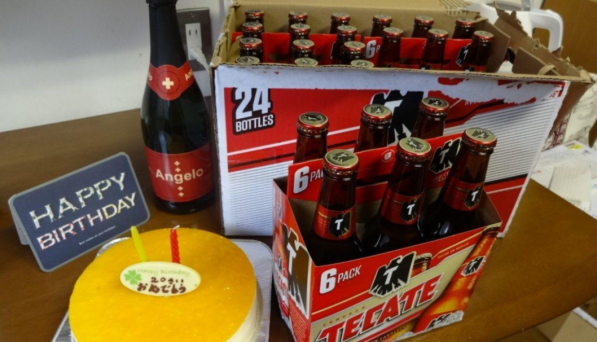 20歳誕生日(メキシコのビールTECATE)