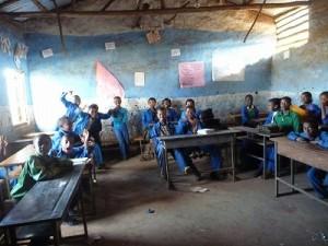 エチオピアの小学校