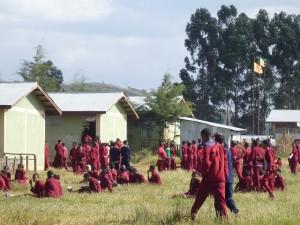 エチオピアの学校の制服