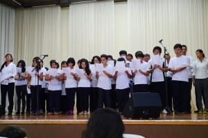 日本人会イベント写真(合唱)