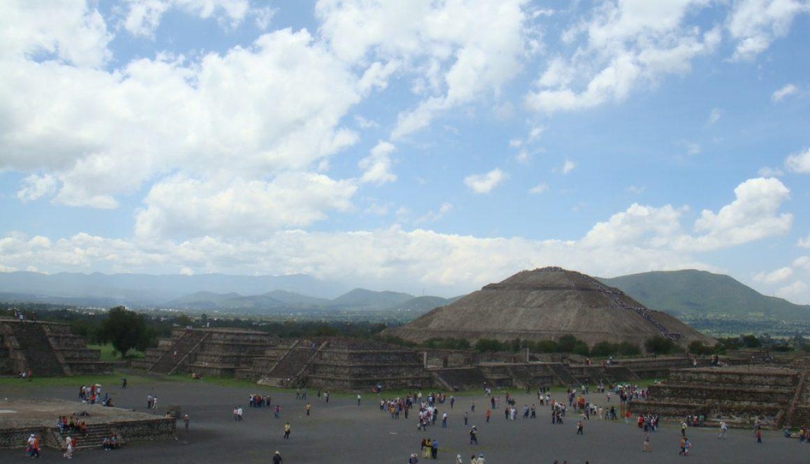 Piramides de México メキシコのピラミッド