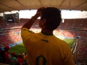 ワールドカップ観戦風景