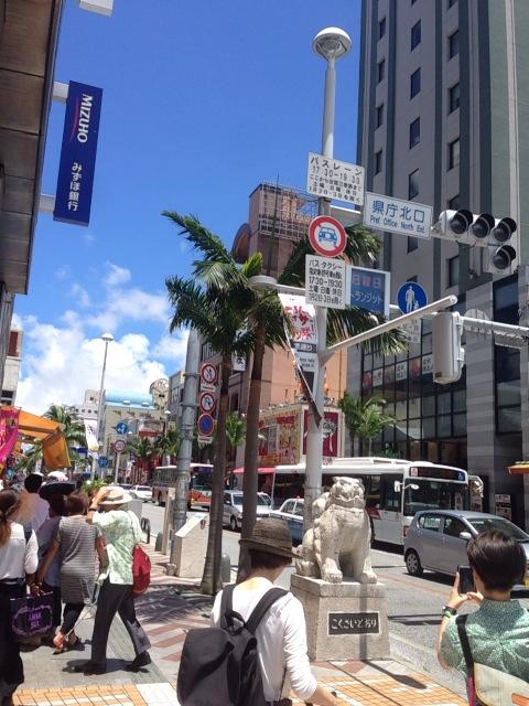 沖縄-国際通り
