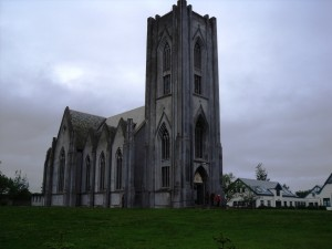 リトアニア人の合唱団のあるLandakotskirkjaという教会。