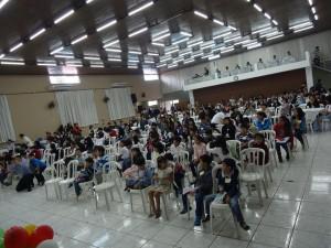 第25回パラナ幼少年お話大会の客席