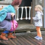 子どもと魔女クラリッサ a child with The Witch `Clarissa`